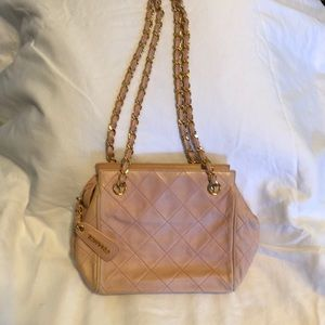 Authentic Chanel purse crossbody , pink
